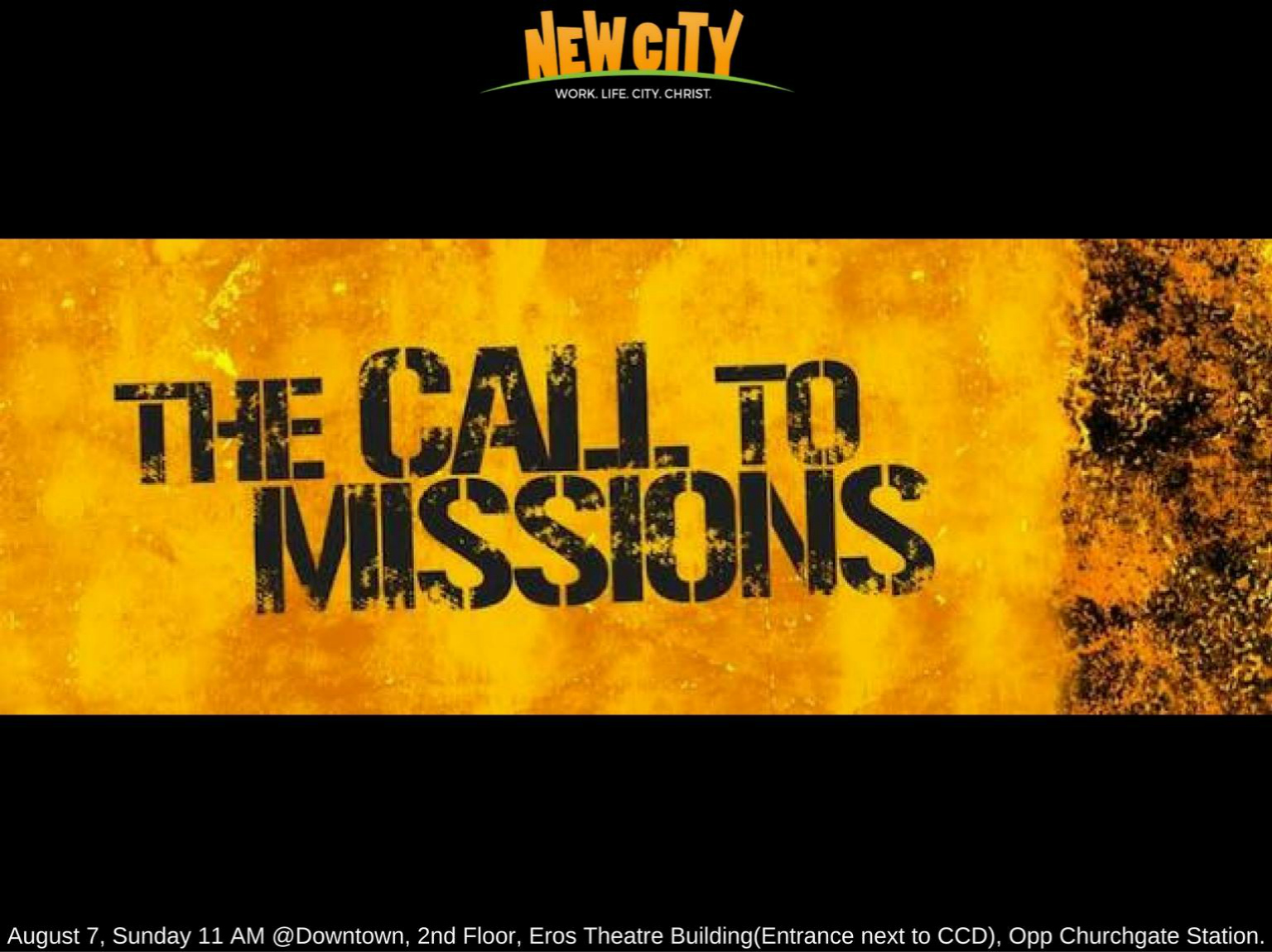 The Call to Mission Image