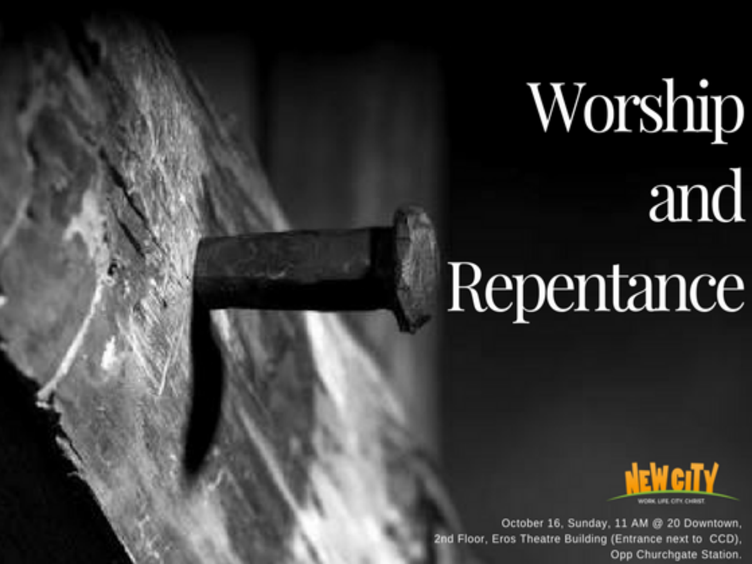 Worship and Repentance Image