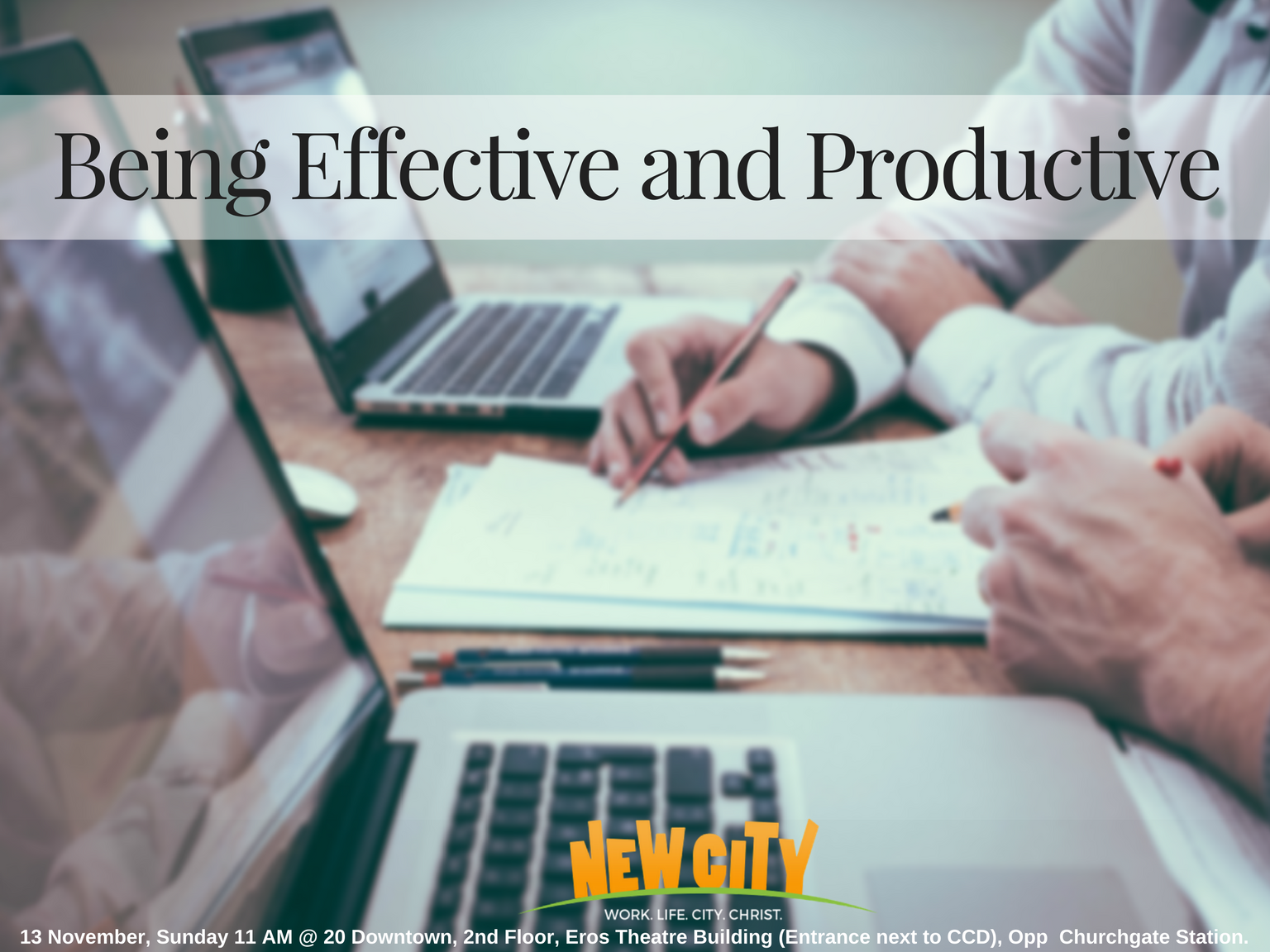Being Effective and Productive - Joemon Joseph Image