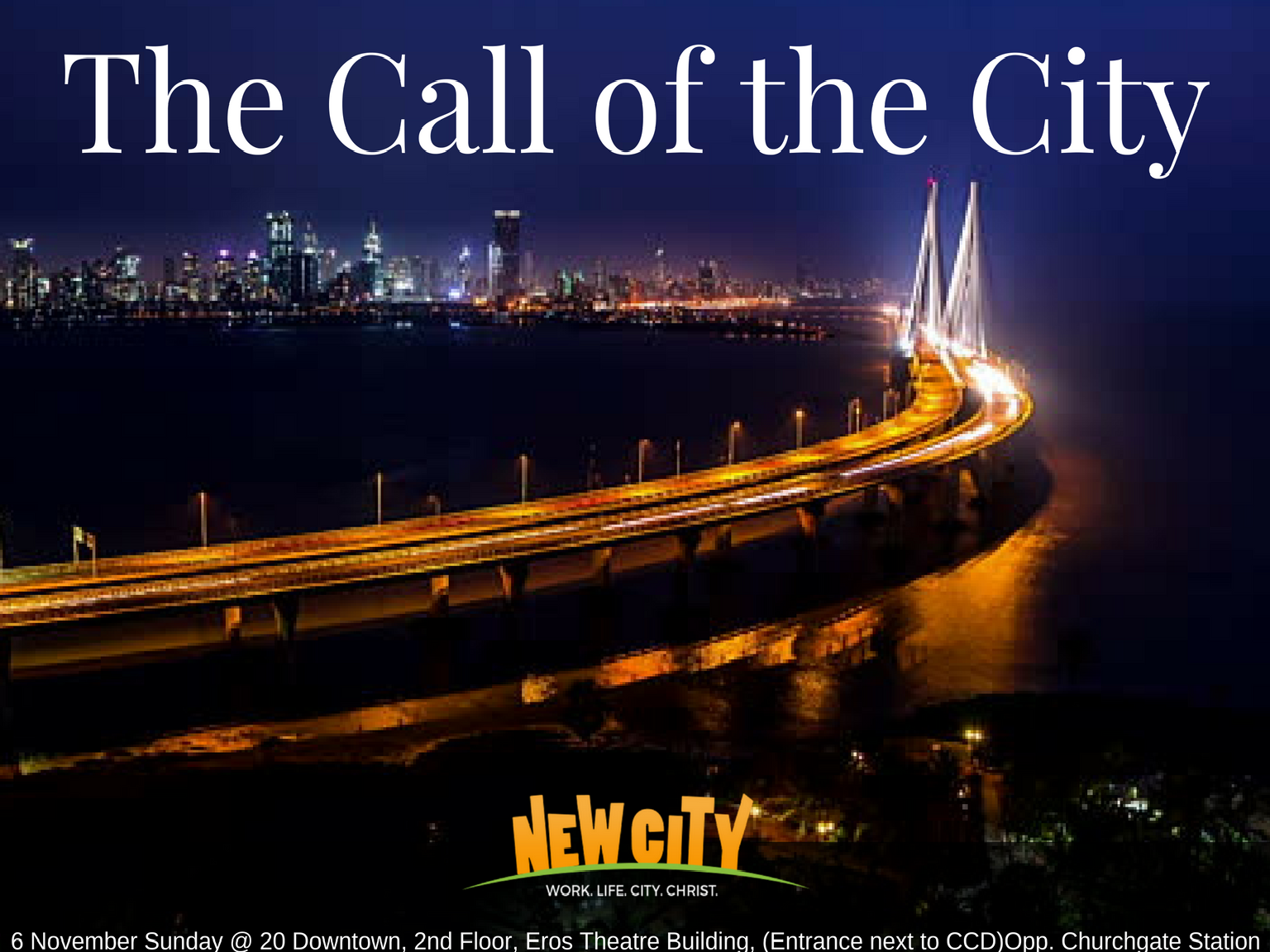 The Call of the City Image