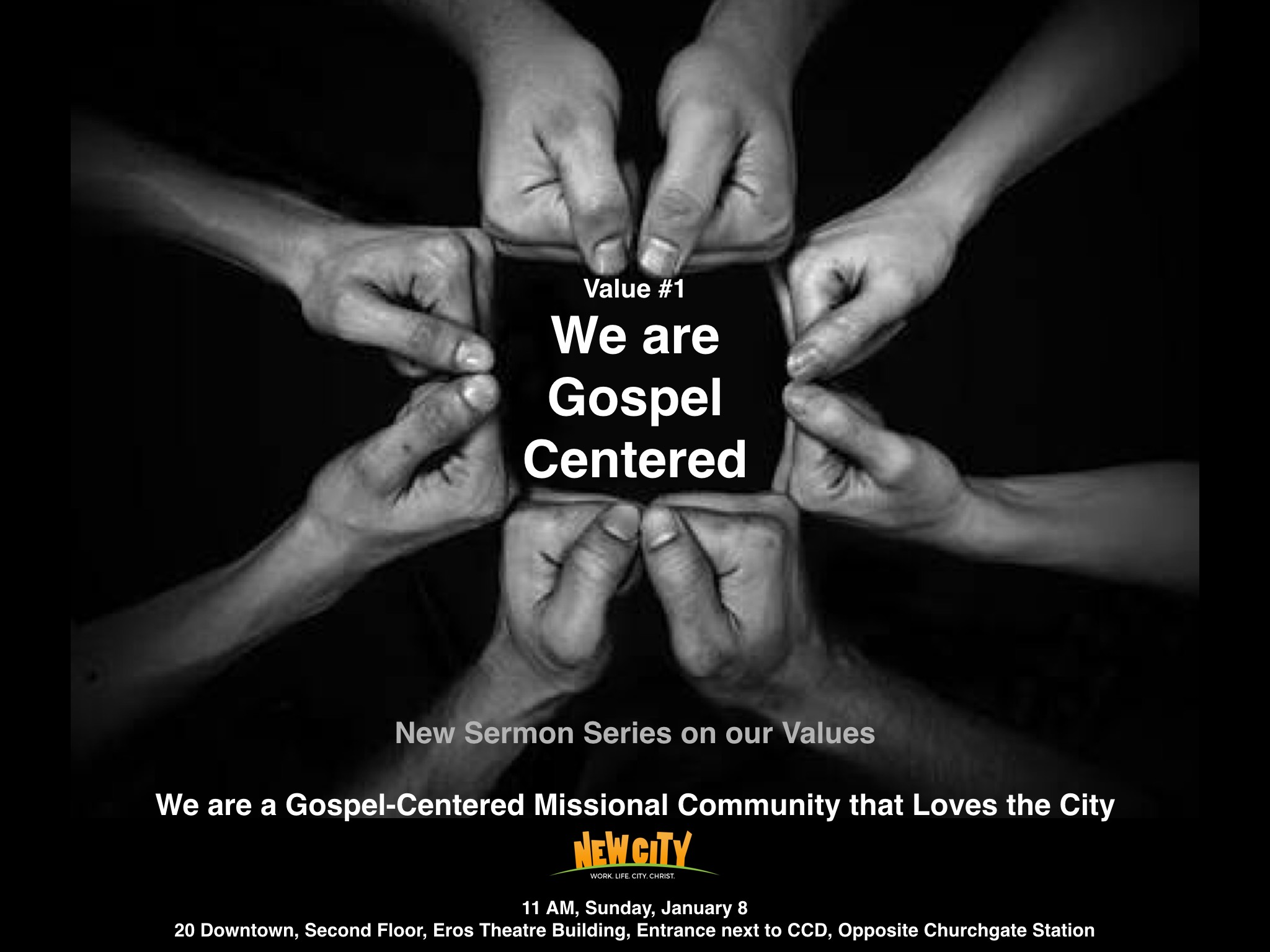 We are Gospel - Centered (Part 1) Image