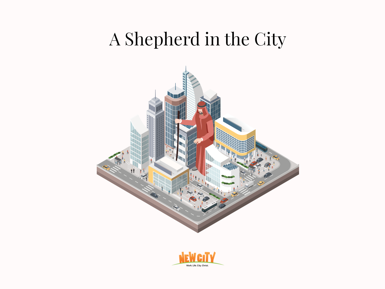A Shepherd In The City - Roshni Mathew Image