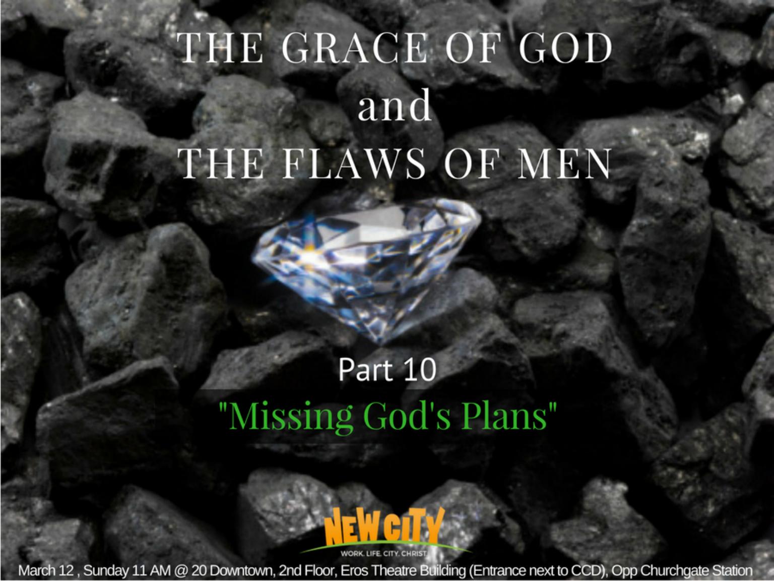 Missing God\'s Plan  Image