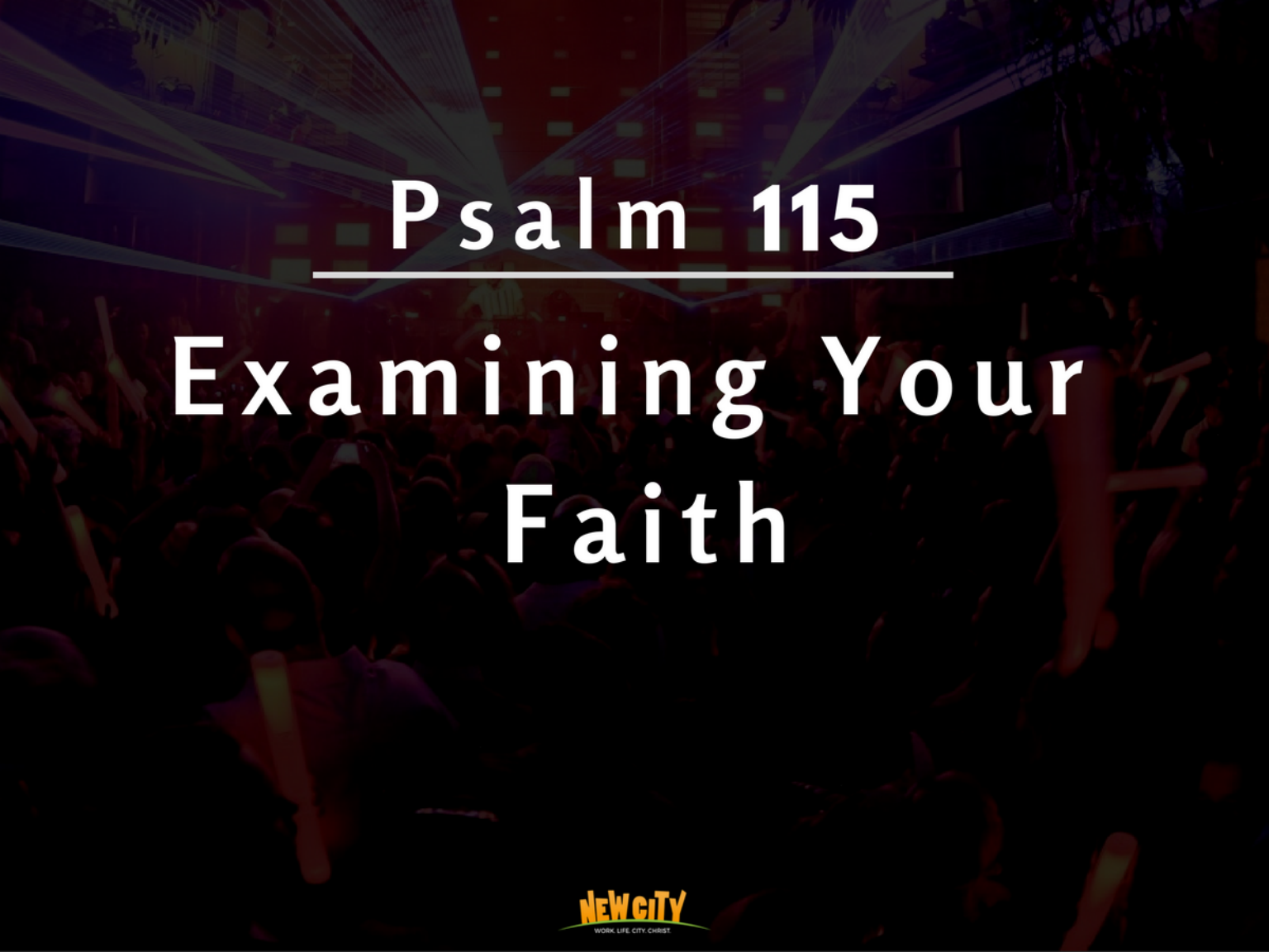 Examining Your Faith Image