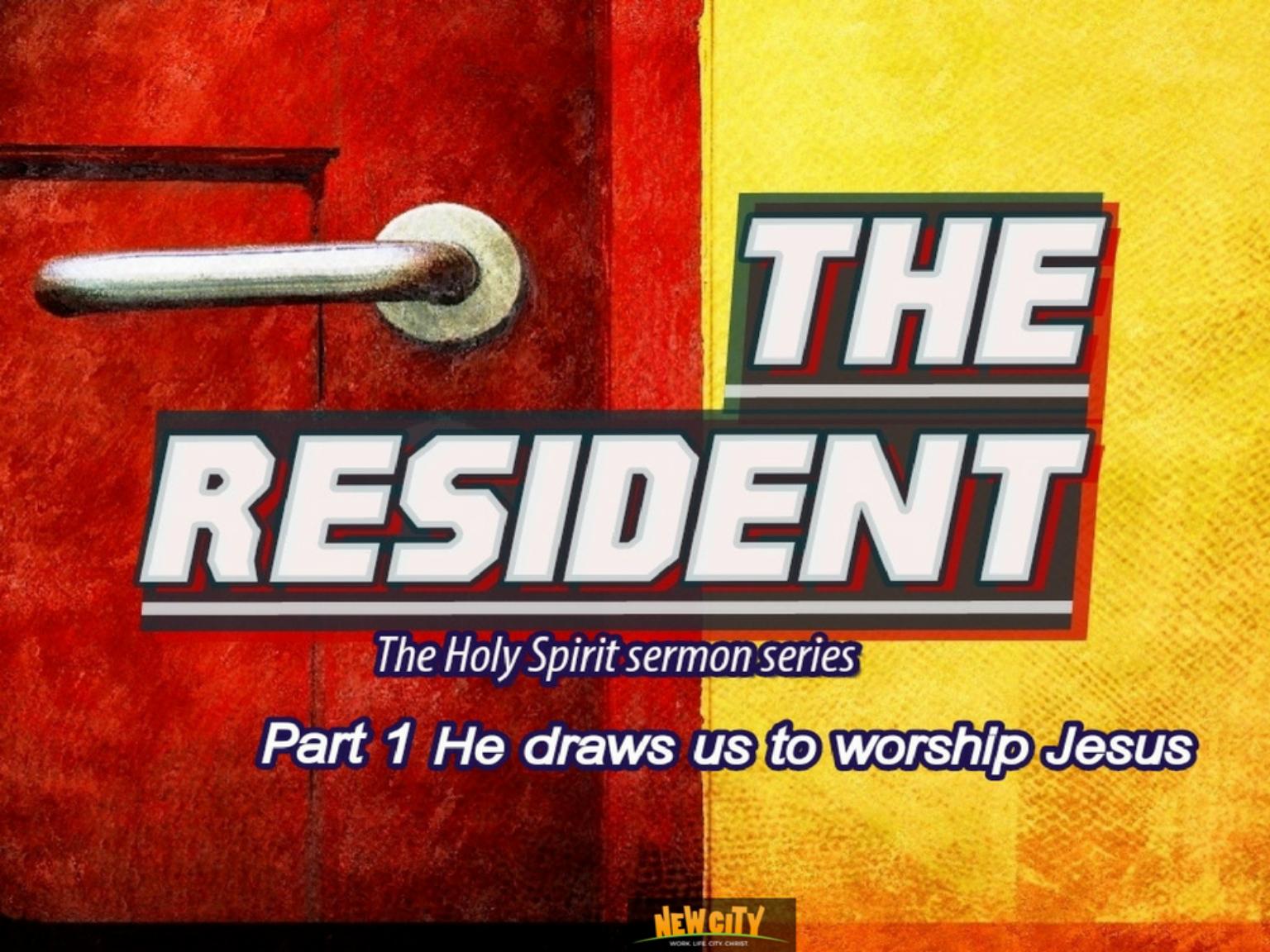 He draws us to worship Jesus Image