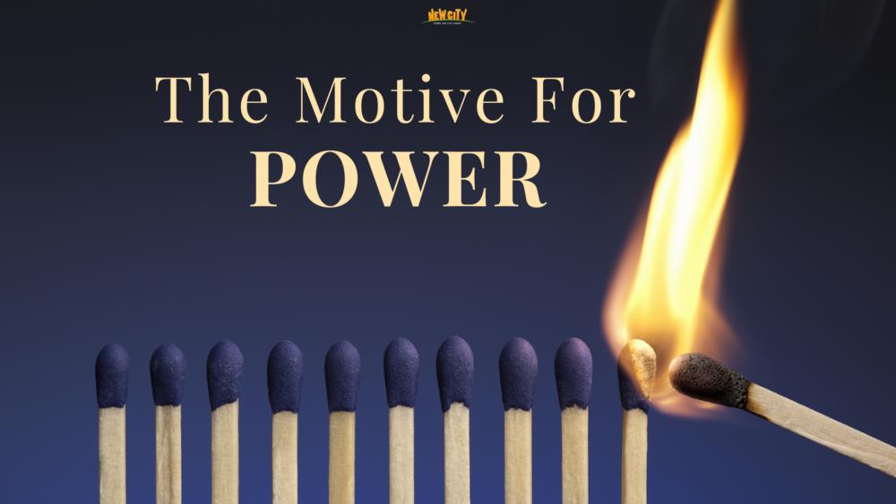 The Motive Of Power - Cindrella Prakash Asher Image