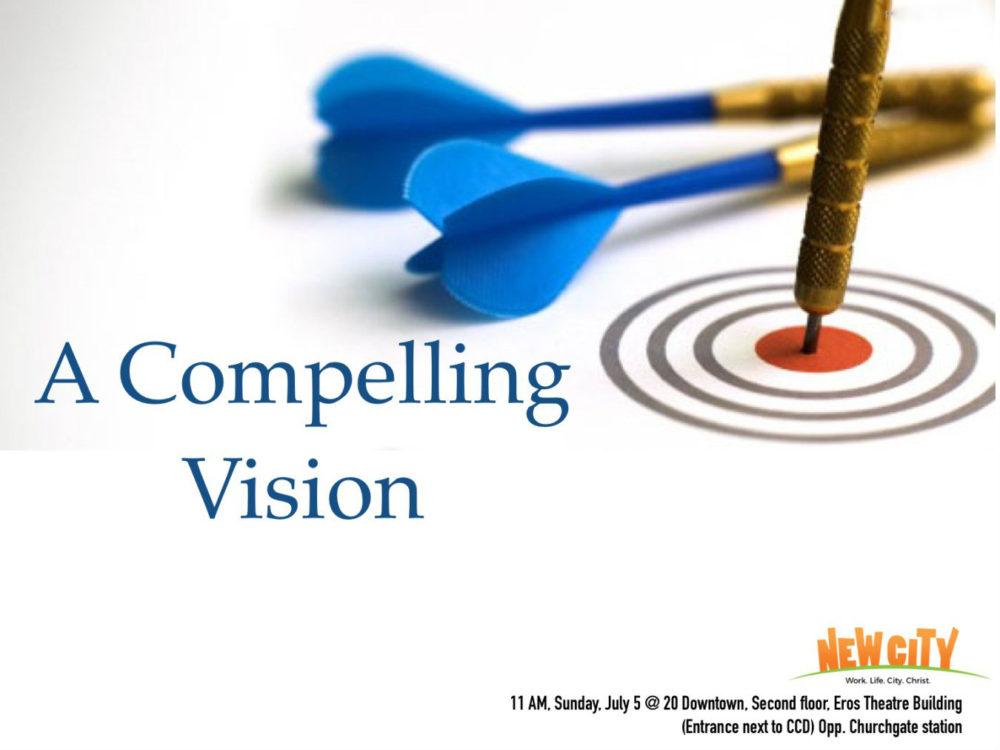 A Compelling Vision - Joemon Joseph Image
