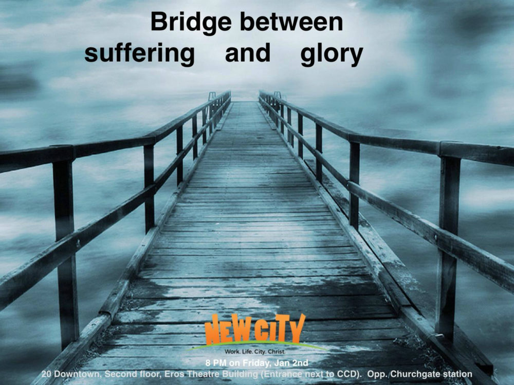 Bridge between Suffering and Glory Image
