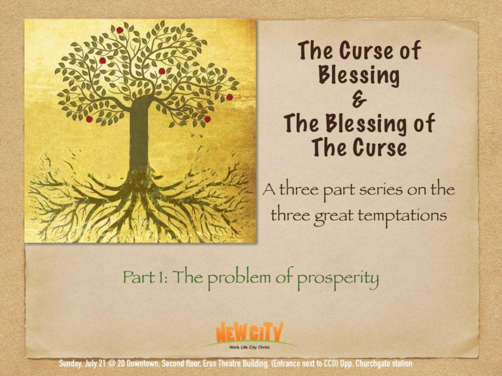 The Problem Of Prosperity Image