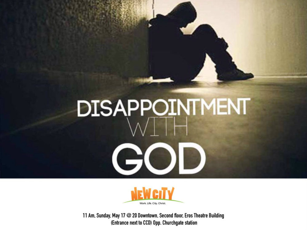 Disappointment with God Image