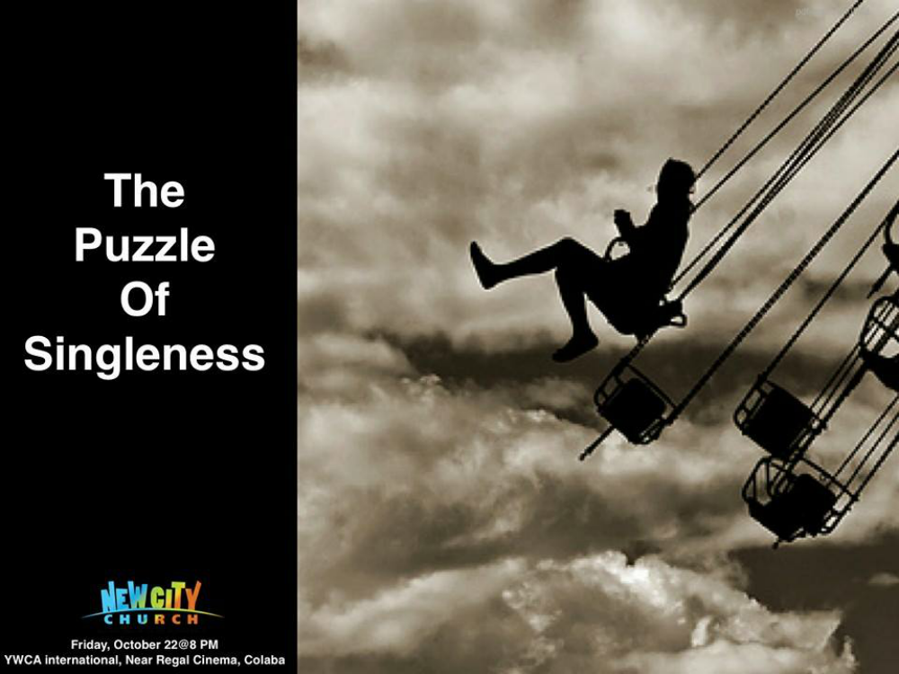 The Puzzle Of Singleness
