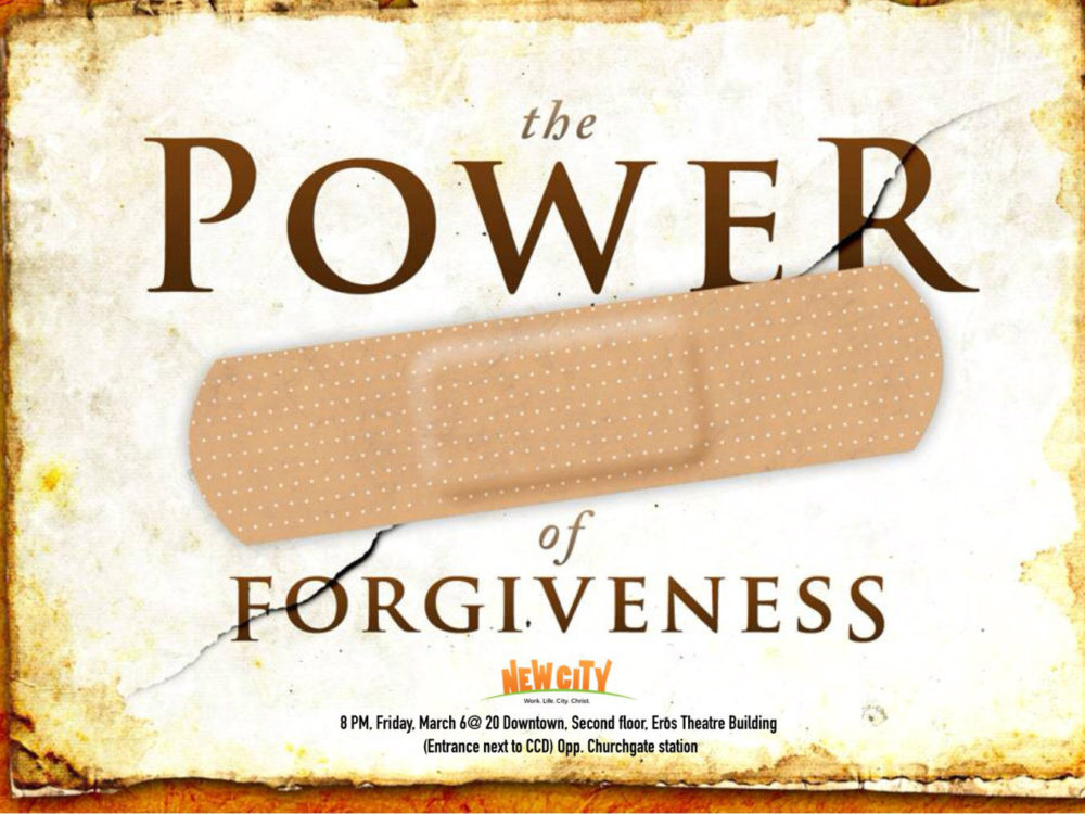 The Power of Forgiveness - Stanley Mehta Image