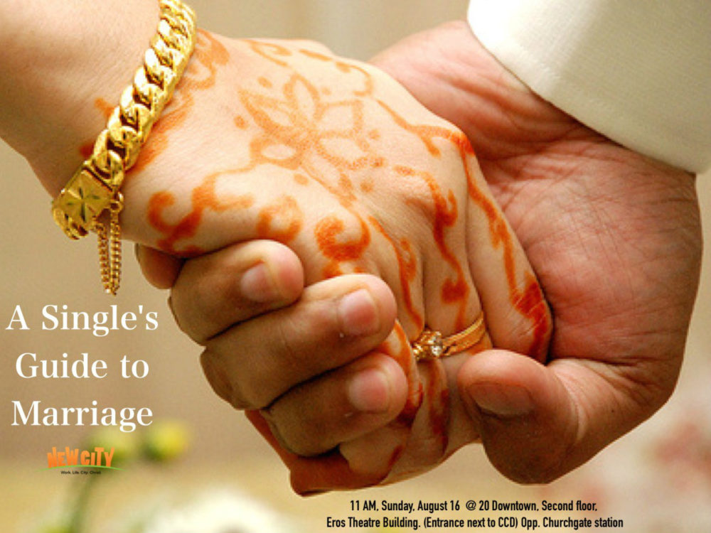 A Single\'s guide to Marriage Image
