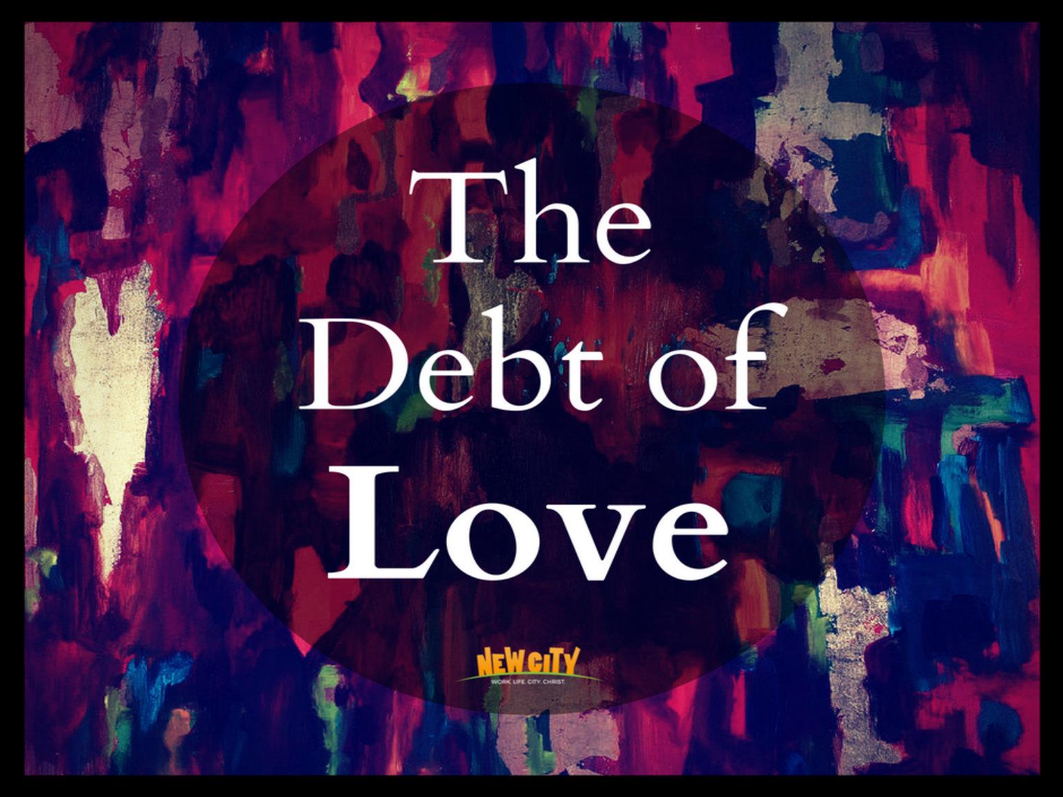 The Debt Of Love - Steven Kanga Image