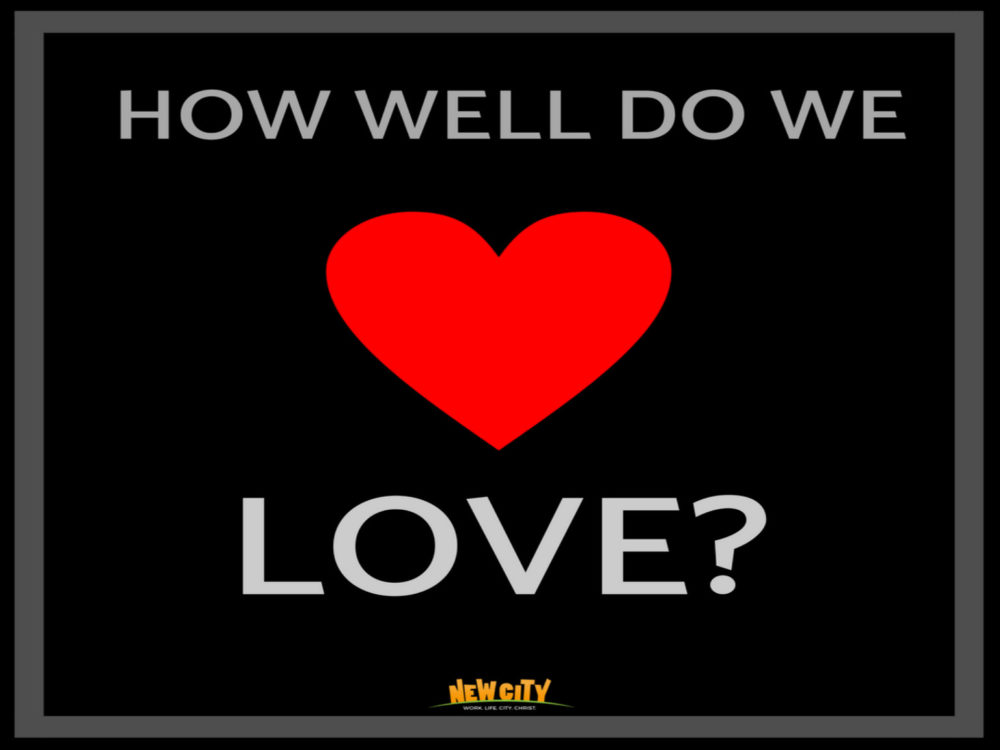 How well do we love Image