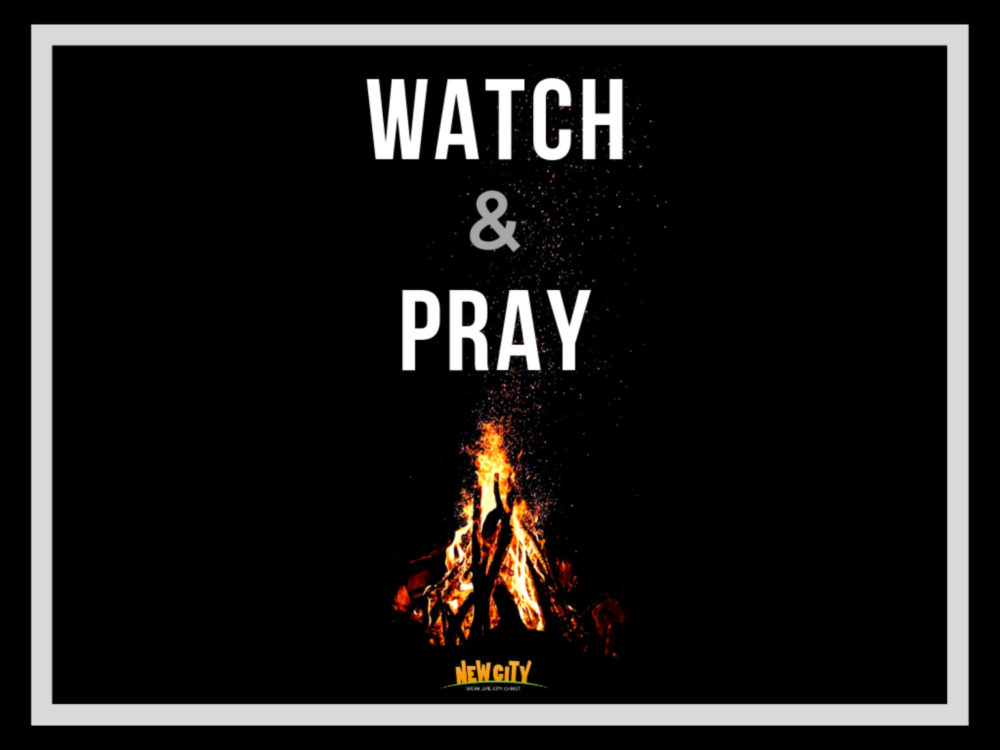 Watch and Pray Image