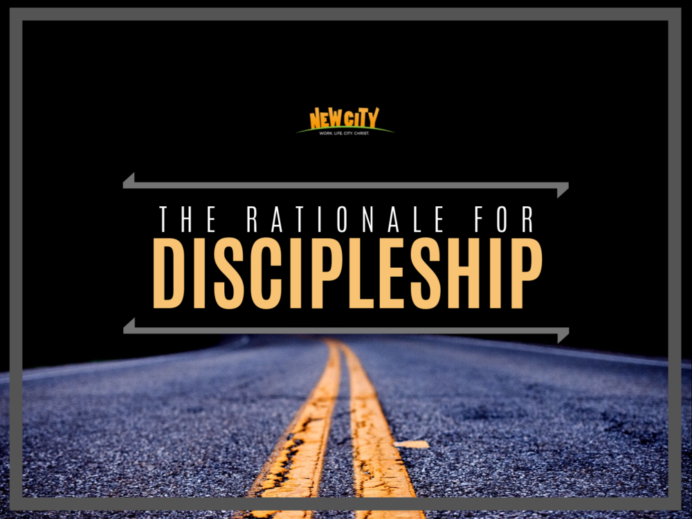 The Rationale for Discipleship - Stanley Mehta Image